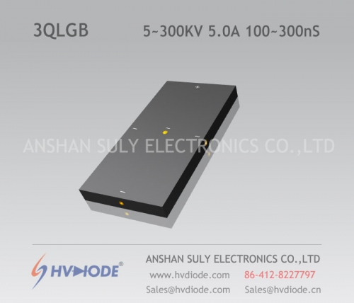 HVDIODE manufacturers produce genuine good goods 3QLG5 ~ 300KV / 5.0A high-voltage three-phase bridge 100 ~ 300nS high frequency