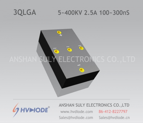 High frequency 100 ~ 300nS high voltage three-phase bridge 3QLG5 ~ 400KV / 2.5A manufacturers HVDIODE