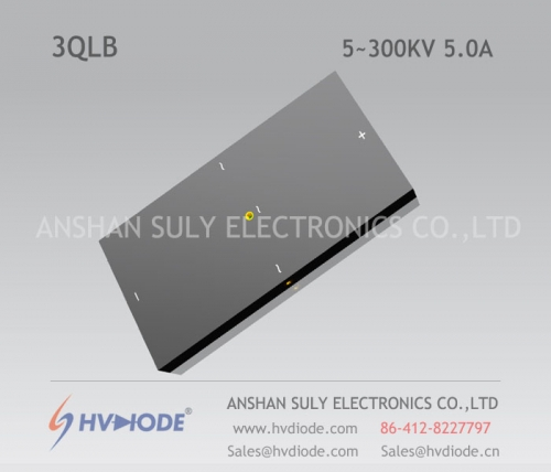 HVDIODE manufacturers produce genuine good goods 3QL5 ~ 300KV / 5.0A high-voltage three-phase bridge power frequency